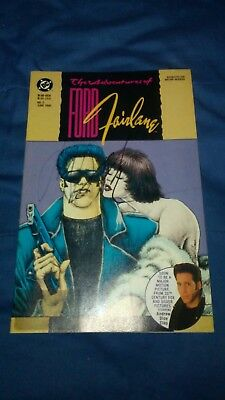 Ford Fairlane #2 Comic Autographed By Andrew Dice Clay