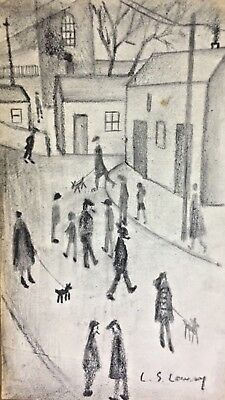 L.S. Lowry - Drawing on paper