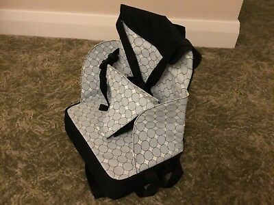 baby polar gear seat mounted high chair