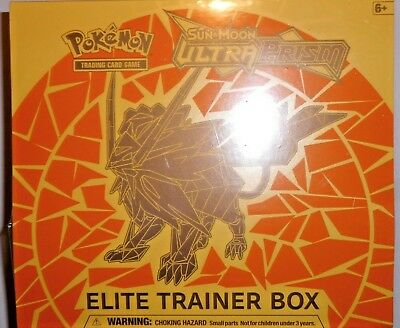 POKEMON ELITE TRAINER BOX Sun & Moon ULTRA PRISM Trading Card Game **NEW** YBTCG