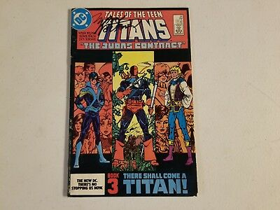 Tales Of The Teen Titans 44 Signed Marv Wolfman