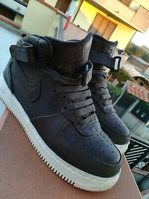 new concept 31b7a 32120 Nike Air Force 1 High Leather Brown Us7 LIMITED EDITION