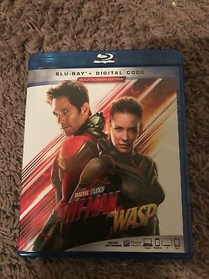 Ant-Man and the Wasp Blu-ray BRAND NEW (No Digital Code)