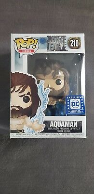 Funko Pop! Heroes Aquaman Legion Of Collectors Exclusive #210