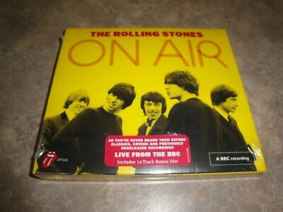 On Air [Deluxe Edition] [2 CD] [Digipak] by The Rolling Stones (2 DISC SET) NEW