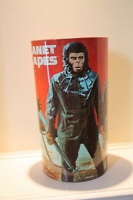 Vintage 1967 Planet of The Apes Trash Can