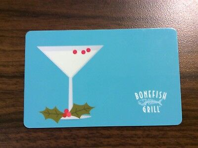$44.36 Bonefish Grill, Outback, Carrabba's, Flemings Gift Card