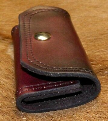 Leather Speed Strip POUCH 357/38; carries 1 eight round Tuff QuickStrip Style