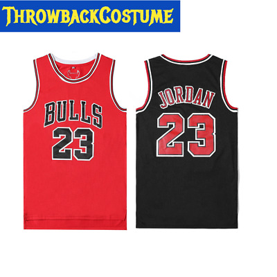 YOUTH / KIDS Throwback Swingman Jordan 23 Classic Basketball Jersey Red/Black
