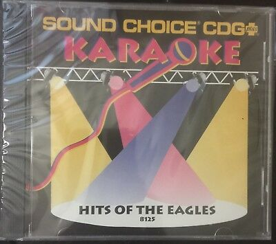 Sound Choice Karaoke 8125 Hits Of The Eagles Brand NEW Out Of Print Sealed