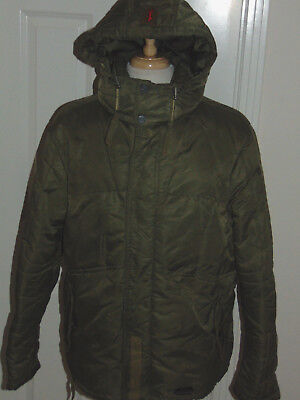 "U.s. Army 1St Infantry Division ""the Big Red One"" Hooded Insulated Coat Large"