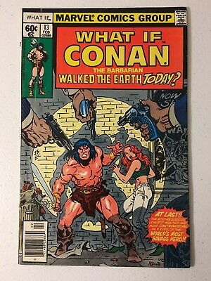 What If #13 Fn Condition Marvel Comics 1St Time Conan Is In The Marvel Universe