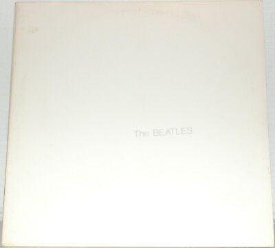 The Beatles White Album Gatefold With Poster 2 Lp Set Capitol Records Vinyl Lp
