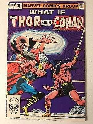 What If #39 Fn Condition Marvel Comics Conan Vs Thor