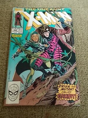 Marvel Comics The Uncanny X-Men #266 1990 First Full Appearance of Gambit
