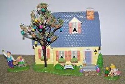 Department 56 SV - HAPPY EASTER HOUSE (Set of 3)  (NIB)  #56.55090 *Retired 05*