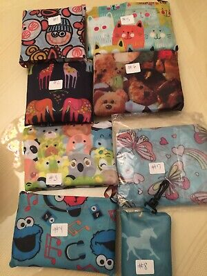Eco Reusable Foldable Shopping Tote Bag cute Cartoon US Seller