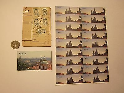 Coins Prague Coin Magnet Stickers Czechoslovakia Czech Republic 26 Items #2