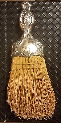 Vintage Antique Sterling Silver Garment Clothes Brush