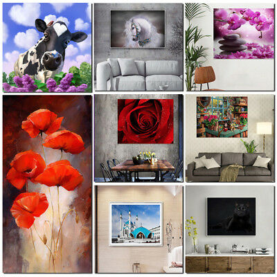 Modern Art Abstract Canvas Print Painting Picture Wall Mural Hanging Decoration
