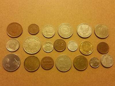 World Coins Assortment X 20 L1