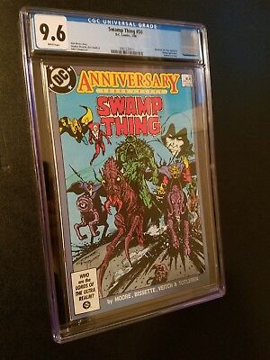 Swamp Thing #50 Anniversary Issue 1st Justice League Dark Alan Moore CGC 9.6!