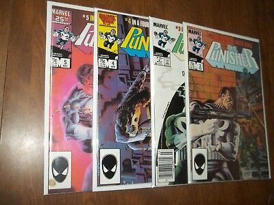 Puisher Limited Series #2-5 Avg. Vf-Nm Zeck Covers