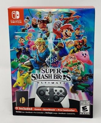 *NEW* Super Smash Bros. Ultimate Special Edition Game (Nintendo Switch)