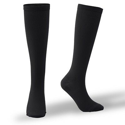 (2019) 15-20mmHg Medical Compression Socks Support Stockings Travel Flight Socks