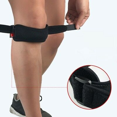 Knee Patella Compression Support Strap Brace Magnets Pain Adjustable Strap Sport