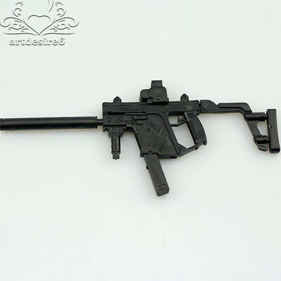 1/6 Scale 4D Assembled Submachine Gun Model KRISS Vector Weapon Kid Toy Gift
