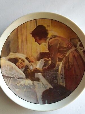 """""""A Mother's Love"""" A Knowles Collector's Plate 1976-Norman Rockwell"""