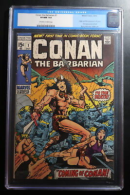 Conan The Barbarian #1 First Appearance of Conan & Kull 10/71 CGC 9.0 VO