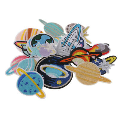 Sew On Embroidery Applique Self-Adhesive Sticker Sewing Decorate Pacthes 23x