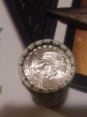 Roll Of Unopened Uncirculated 1999d Susan B Anthony Dollar Coin