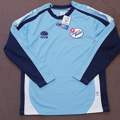 New South Wales Blues Player Issue Training Shirt