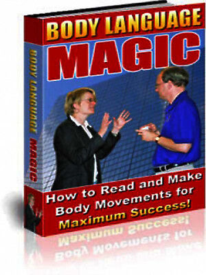 Body Language Magic (How to Read and Make Body Movements) - PDF EBook