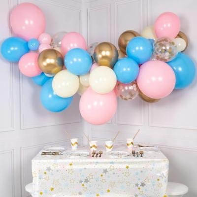 Diy, 1M Chrome Gold, White, Ivory, Pink, Blue Balloon Garland Kit Baby Shower