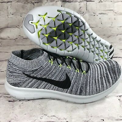 11bc6df0392 NIKE WOMEN S FREE RN Motion Flyknit Running Shoes Sz  11 834585 100 ...