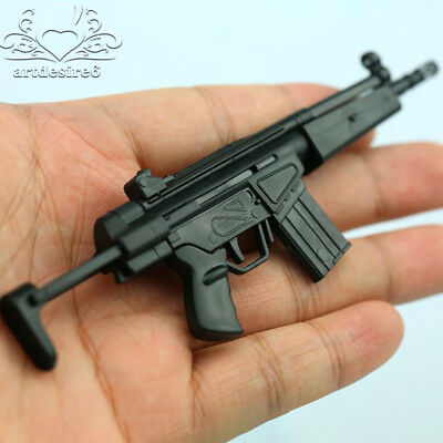 "1/6 Scale Soldier 4D Assembled Puzzle Carbines Gun Model HK53 For 12"" Figure"