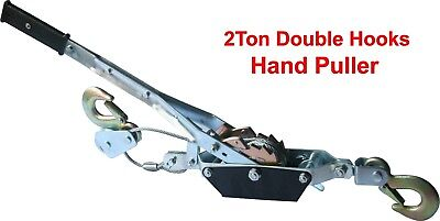 2/4Ton Rachet Come Along Hand Winch -Portable Heavy-Duty Hand Power Cable Puller