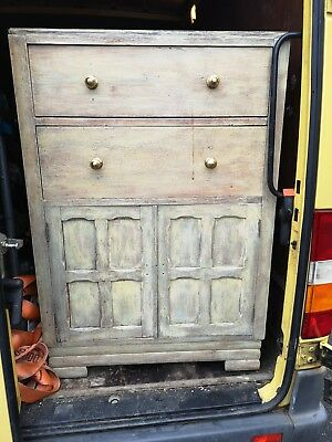 Rustic Shabby Chic Antique Cupboard