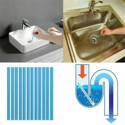 Ampe Sticks Drain Cleaner Sticks Drains Pipes Clear (1Pack)