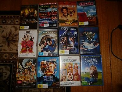 Kids Bulk Lot of DVD's