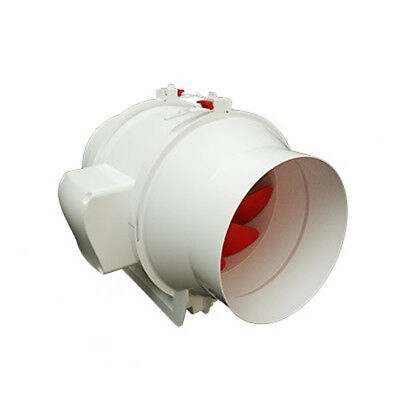 """Ghost-Fans 6""""/150Mm High Powered Inline Mixed Flow Ventilation Exhaust Extractor"""