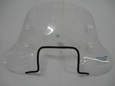 Vespa Piaggio S50 S125 Scooter  Flyscreen With Fittings Cuppini Italy
