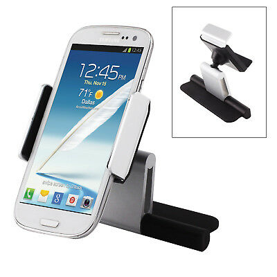 360° Rotating phone holder Car Slot Mount For Mobile Stand GPS Universal New