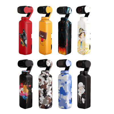 Waterproof Decal Skin Sticker Protective Cover for DJI OSMO POCKET Gimbal Camera