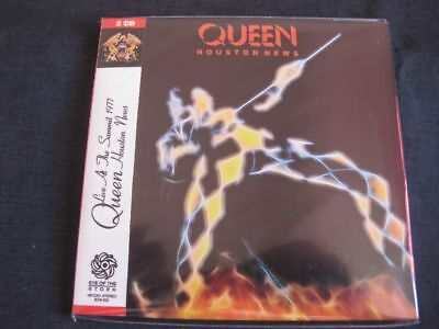 QUEEN, Houston News: Live in Houston, Texas USA 1977 , 2x CD Mini LP, EOS-520