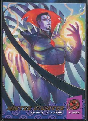 2018 Fleer Ultra X-Men Trading Card #83 Mister Sinister SP